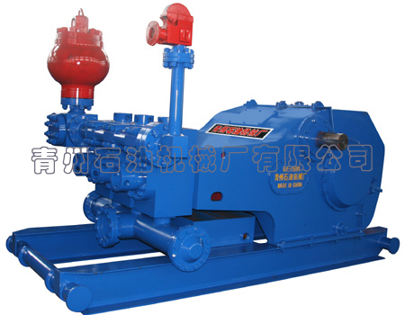 QF-500 triplex drilling mud pump