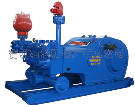 QF-800 triplex drilling mud pump