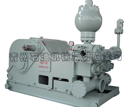 QZ-8 triplex drilling mud pump